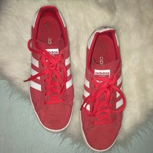 Adidas Campus in Red